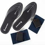 Ultrasport Thermosohle - patentiertes Schuhheizungs-Set mit flachen Einlegesohlen - Größe 36-48