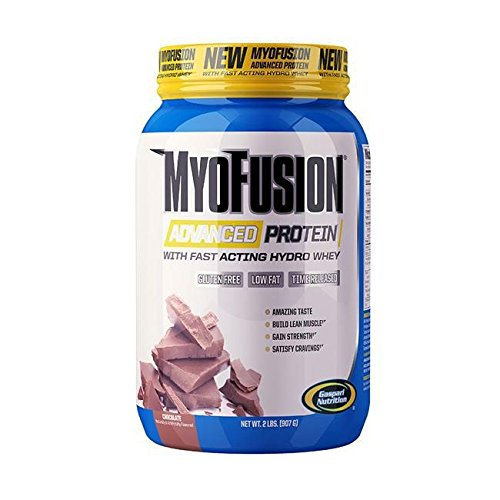Gaspari Nutrition - Myofusion Advanced 2Lb Cookies - 51qz7OCz81L