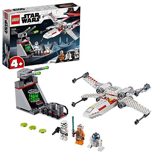 LEGO Star Wars - Asalto a la Trinchera del Caza Estelar Ala-X, juguete de construcción de nave espacial de La Guerra de… 1