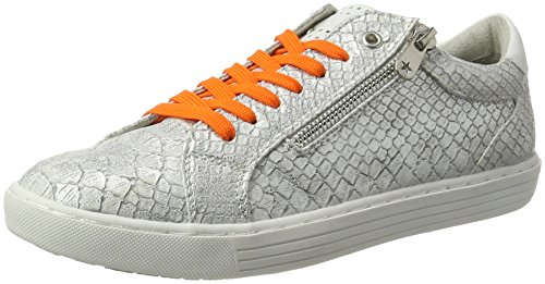Marco Tozzi 23609, Sneakers Basses Femme Argent (Silver Struct. 927)