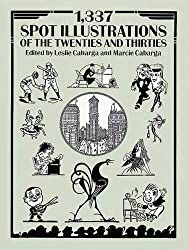 1,337 Spot Illustrations of the Twenties and Thirties (Dover Pictorial Archive) by Marcie Cabarga (1992-08-18)