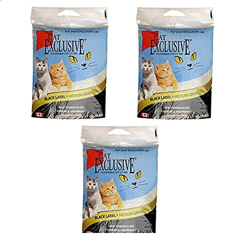 Intersand Scoopable Cat Litter (10 kg) Pack of 3