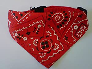 Dog/Cat Collar RED Bandana Small by Medschemist