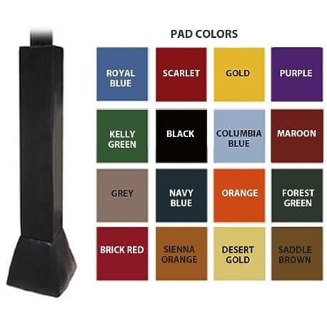 Primer Equipo ft79 foam vinyl Deluxe Polo Pad para 6 en Manivela ajustar barras y 44 ladrillo rojo