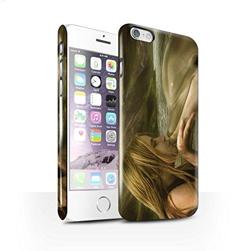 Officiel Elena Dudina Coque / Clipser Brillant Etui pour Apple iPhone 6S / Sonrisas/Dauphin Design / Agua de Vida Collection Sonrisas/Dauphin