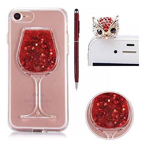 iphone-6-plus-case-cleariphone-6s-plus-caseskyxd-creative-flowing-liquid-sparkle-quicksands-star-des