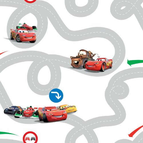 "Papier-Kindertapete ""Cars Racetrack"" Kollektion kids@homeIII"