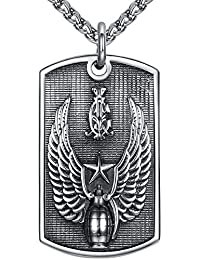 aap150 marteau de thor de Viking Aoiy Collier avec pendentif hommes Acier Inoxydable cha/îne 61cm
