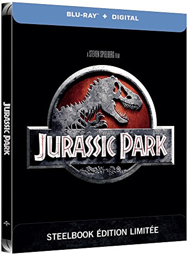 Jurassic Park [Édition SteelBook Blu-ray + Digital HD]