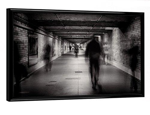 """artboxONE Poster mit Rahmen 30x20 cm FACELESS #1"""" von Künstler Pixum Edition - Poster mit Kunststoffrahmen"""