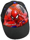 Marvel Spiderman Baseball Cap für Kinder, schwarz, Art. 3004, Gr. 52