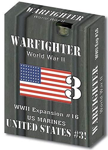 Spiel United States Marine (DVG: Warfighter WW2 - Expansion #16 United States 3 (US Marines))