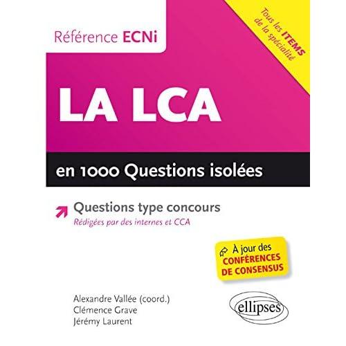 La LCA en 1000 Questions Isolées ECNi