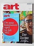 art. DAS KUNSTMAGAZIN April 2012: Der Zocker. Wie Damian Hirst mit der Kunstwelt spielt