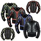 Enfants Body Armour Body Gear Armor Motorcycle Veste de protection de l'enfance Guardcross Bikes Guard CE approuvé - Année 10