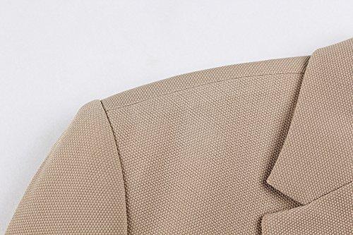 Insun -  Giacca da abito  - Classico  - Uomo Verde