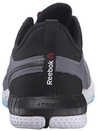 Reebok Zprint 3D Ex Synthétique Chaussure de Course Alloy-Black-White-Blue