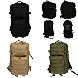 XL Rucksack Multifunktions Backpack Military Outdoor Schule Laptopfach Unisex 50 L