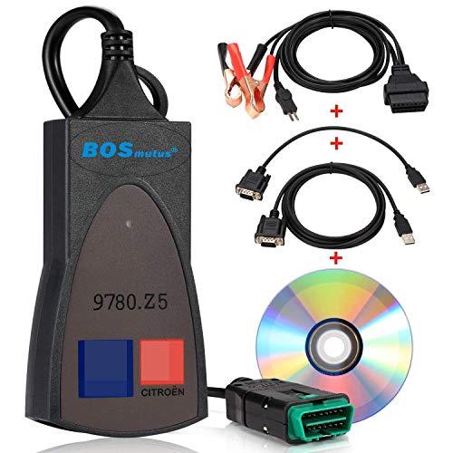 Preisvergleich Produktbild SingMax Fire PP2000 Diagnosegerät für Citroen Sedan,  V48 PP2000 V25 Diagbox 7.83,  kompatibel zu Lexia 3