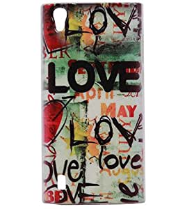 Love Exclusive Rubberised Back Case Cover For Vivo Y15 / Y 15