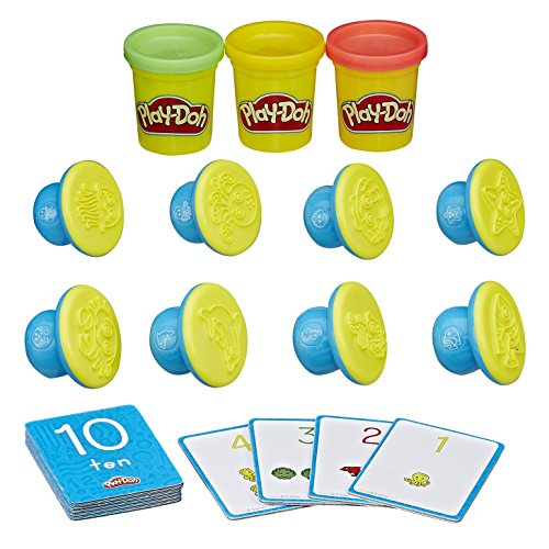 Play-Doh - Shape and Learn - Numbers and Counting - Chiffres et Calculs Version Anglaise