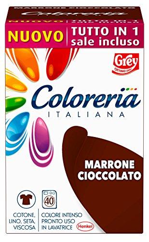 Grey coloreria italiana marrone cioccolato new con sale incluso - 350 gr