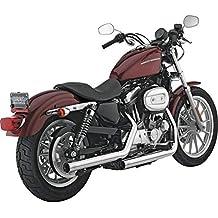 Vance & Hines Straightshots Slip-Ons cromo Harley Davidson Sportster 04-13