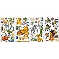 Stickers repositionnables multi-éléments Le Roi Lion Disney