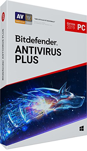 Bitdefender Antivirus Plus 2019 | 3 PC | 2 Ans