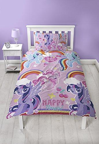 My Little Pony Crush Einzelne Rotary Bettbezug und Kissenbezug Set,Mehrfarbig - Rosa Schlag-trockner