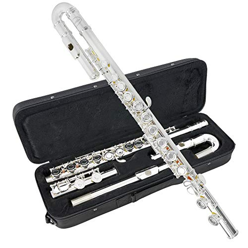 Sonata FLU701 Flöte mit gebogenem Kopfstück