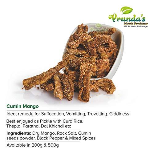 Vrunda's Jeera Kairi , khatti Kairi , Chatpati Kairi ,Sour Cumin Mango , Dry Pickle