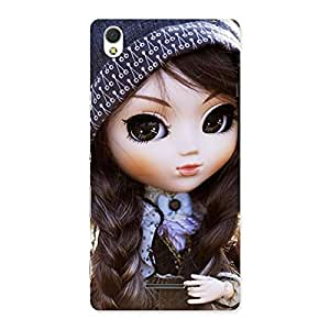 Stylish Sweet Angel Doll Multicolor Back Case Cover for Sony Xperia T3
