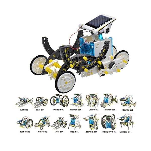 51qzPv5oEhL. SS600  - JEEMAK 14-en-1 para la Educación Solar Robot Kit