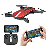 EACHINE E52 Drone With Camera Live Video, WIFI FPV Quadcopter With HD Camera Foldable Drone RTF - Altitude Hold, One Key Take Off/Landing, 3D Flip, Headless Mode, APP Control, RC Flying Toys from Fumiekong