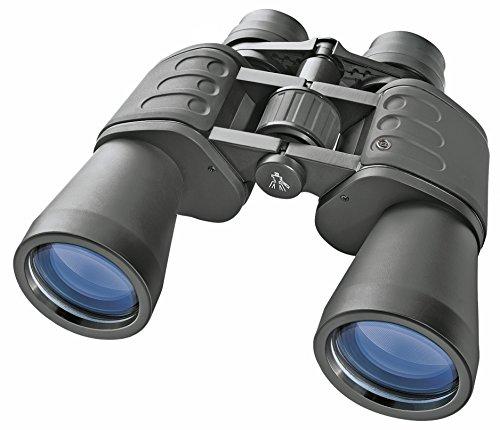 fernglas 30x50 Bresser Fernglas Hunter 20x50 mit hoher Vergrößerung, vollvergüteter Optik und robustem gummiarmiertem Korpus inklusive Stativanschlussgewinde, Dioptrienausgleich, Transporttasche und Umhängegurt