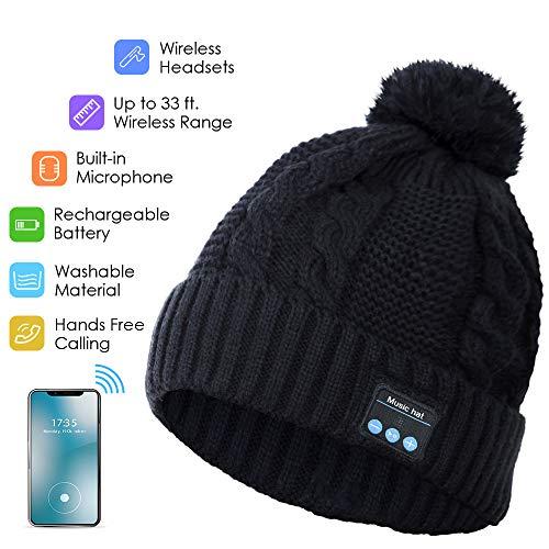 Gorro Bluetooth, Auricular Bluetooth Altavoz Estéreo