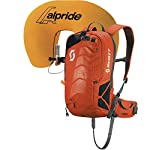 Scott Air Free AP 12 2016 Avalanche Air Bag Kit In Orange/Black - sports-outdoor-bags, skiing-backpacks