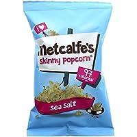 Metcalfe's Popcorn | Sea Salt Popcorn | 1 x 20g