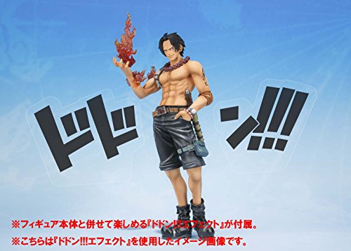 Bandai Tamashii Nations S.H.FiguartsZERO Portogas.D.Ace 5th Anniversary Edition One Piece Action Figure 8
