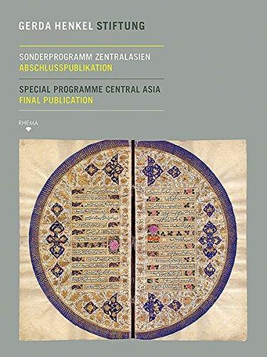 Sonderprogramm Zentralasien: Abschlusspublikation