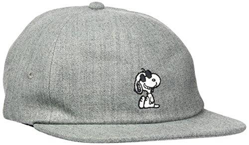vans-apparel-vans-x-peanuts-jockey-berretto-da-baseball-uomo-grigio-heather-grey-taglia-unica