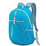 yvonnelee 15L plegable mochila para hombres, mujeres y niños-ligero, resistente y resistente al agua, pequeño-deporte, al aire libre, diario accesorios para más espacio de almacenamiento, Infantil, Rosa oscuro