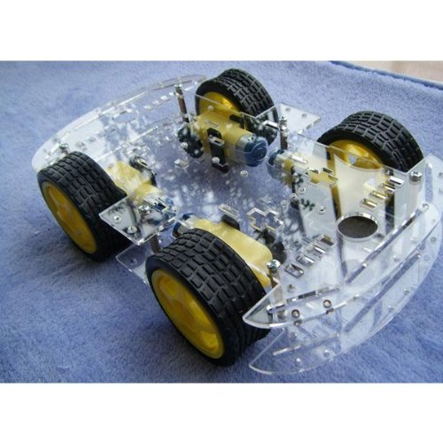 4 WD Smart Robot Car Chassis Kits with Strong Magneto Speed Encoder für Arduino 51