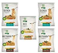 NutraHi Gluten Free Spaghetti Combo - 2 x Quinoa, 2 x Multigrain and 1 x Rice - 84gm Each