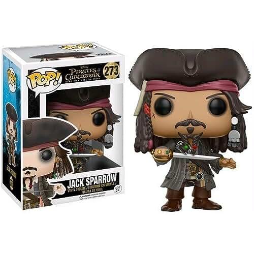 munecos pop kawaii Funko - POP! Vinilo Colección Piratas del Caribe - Figura Jack Sparrow (12803)