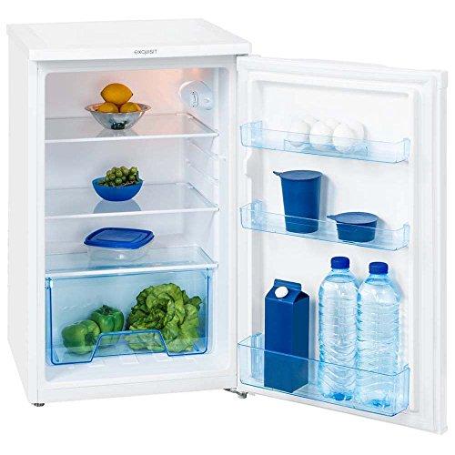 Exquisit 112l Kühlschrank Stand EEK A++ 3 Türfächer Box Truhe KS124-3RVA++