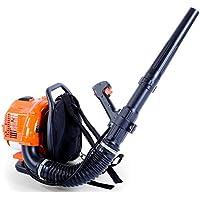 FUXTEC Benzin Laubbläser FX-LB133T rückentragbar mit über 300 Km/h besonders rückenschonend für große Flächen - Rückenbläser Blasgerät Luftbläser