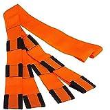 Byjia 2 Personas De Elevación Y Correas Móviles, para Transportar Fácilmente Muebles, Electrodomésticos, Colchones O Cualquier Objeto Pesado (Naranja), Paquete de 2