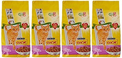 Go-Cat Adult Dry Cat Food Chicken and Duck 2kg - Case of 4 (8kg)
